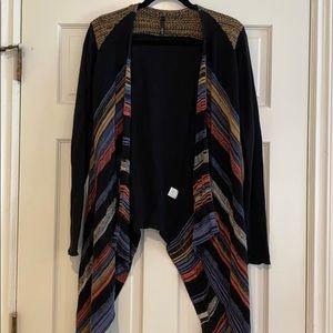 Elan Knitted Cardigan Size M